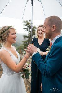 Sapphire Wedding Ceremony