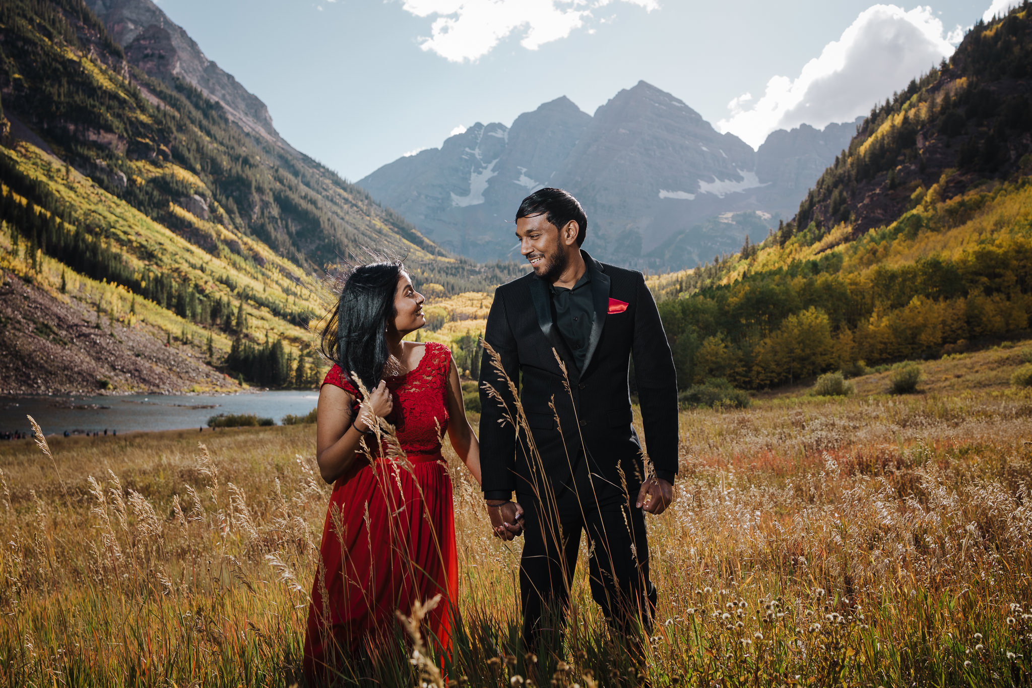 Maroon Bells Engagement Photographer