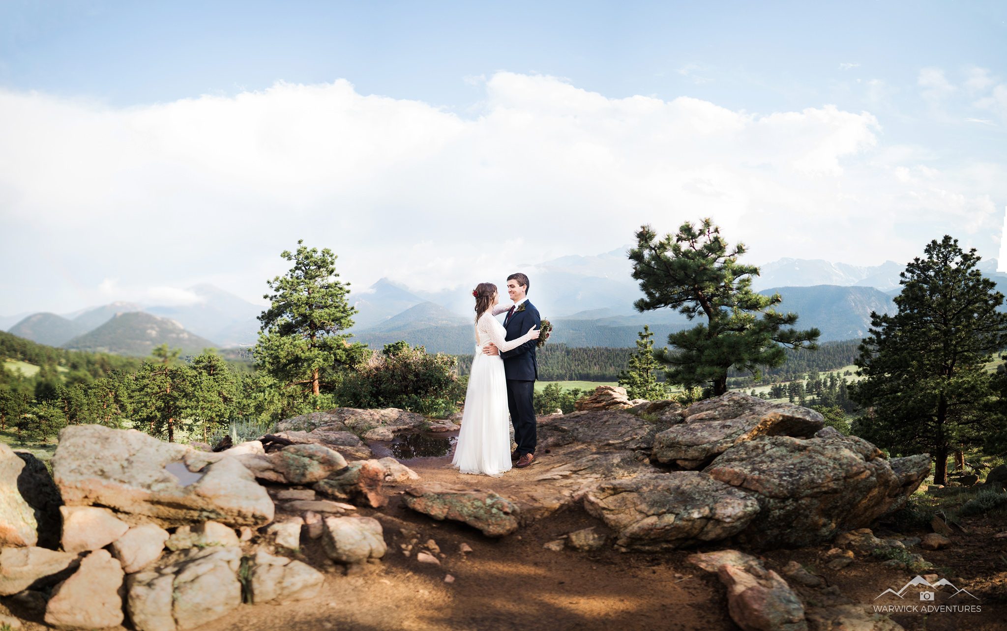 estes park wedding videographer