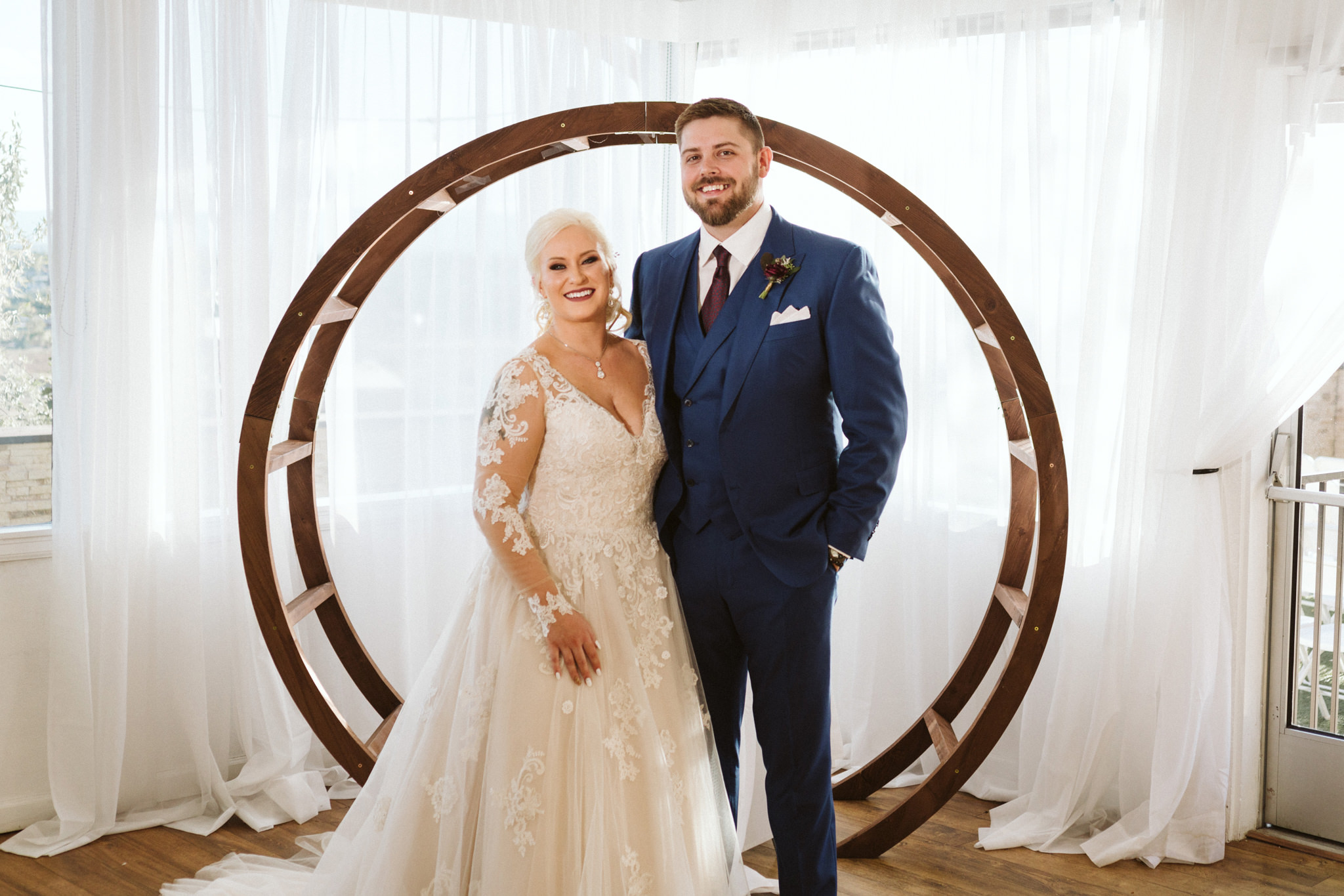 wedgewood brittney hill wedding couple