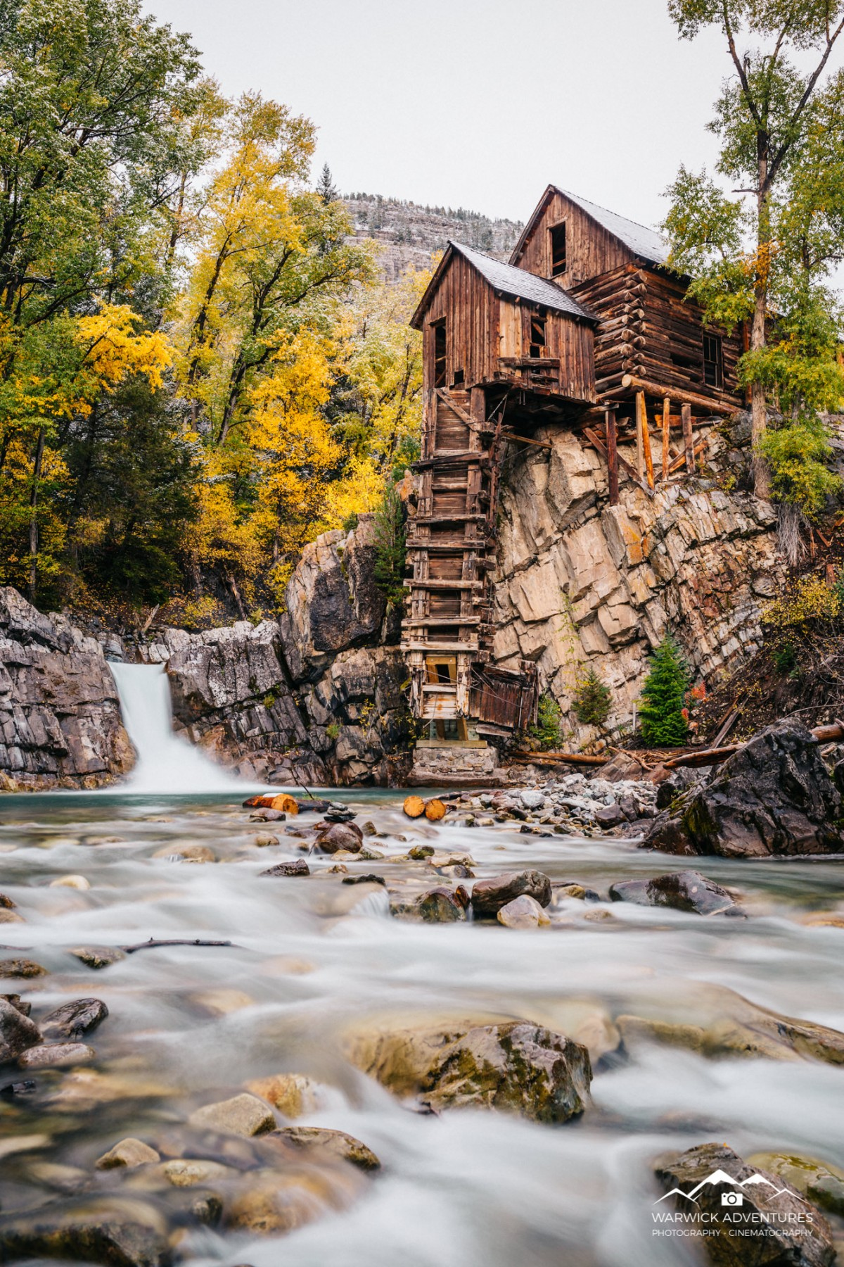 crystal mill fall portrait