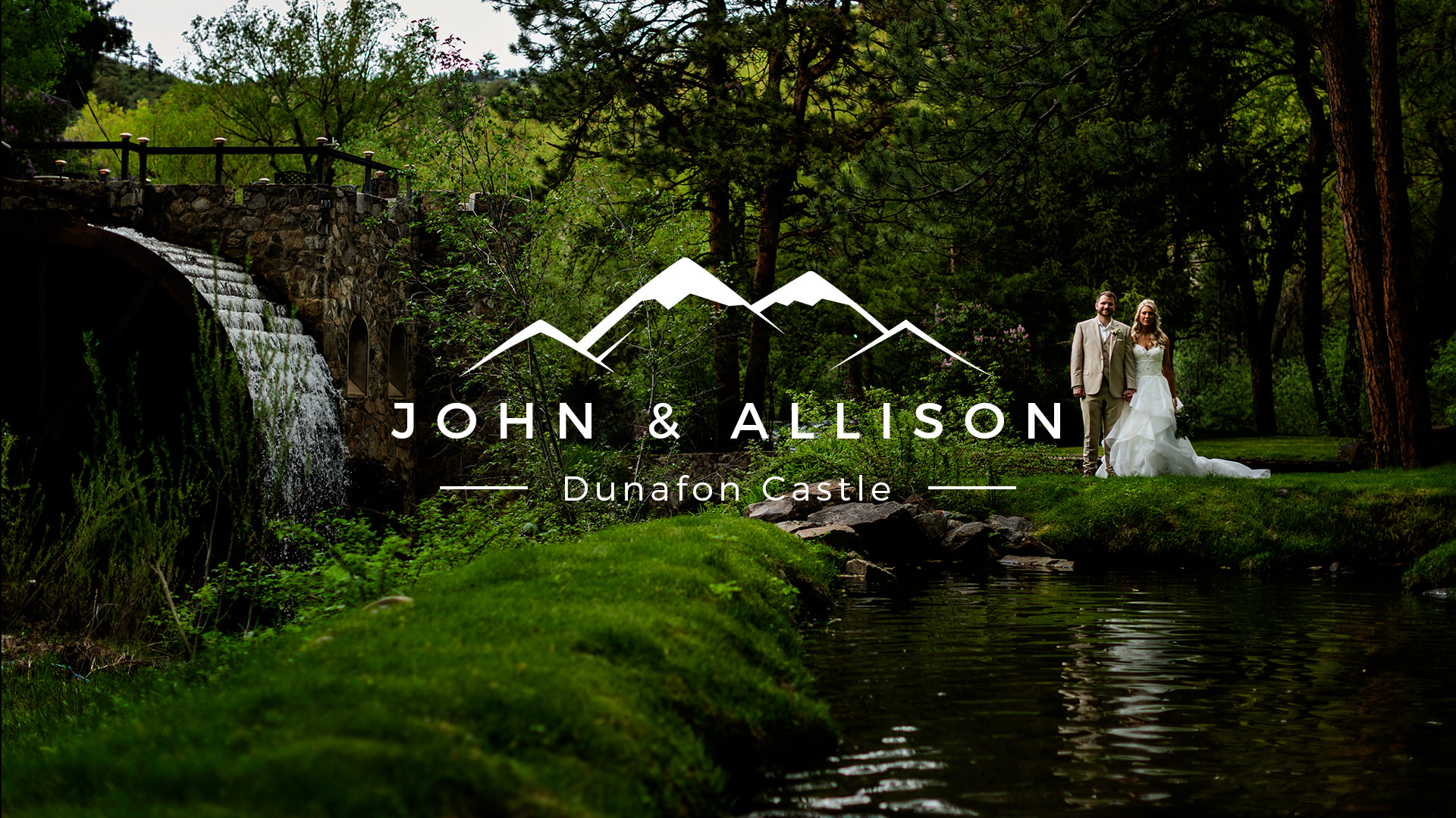Dunafon Castle Wedding photography