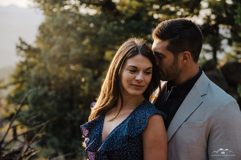 lost gultch engagement photography